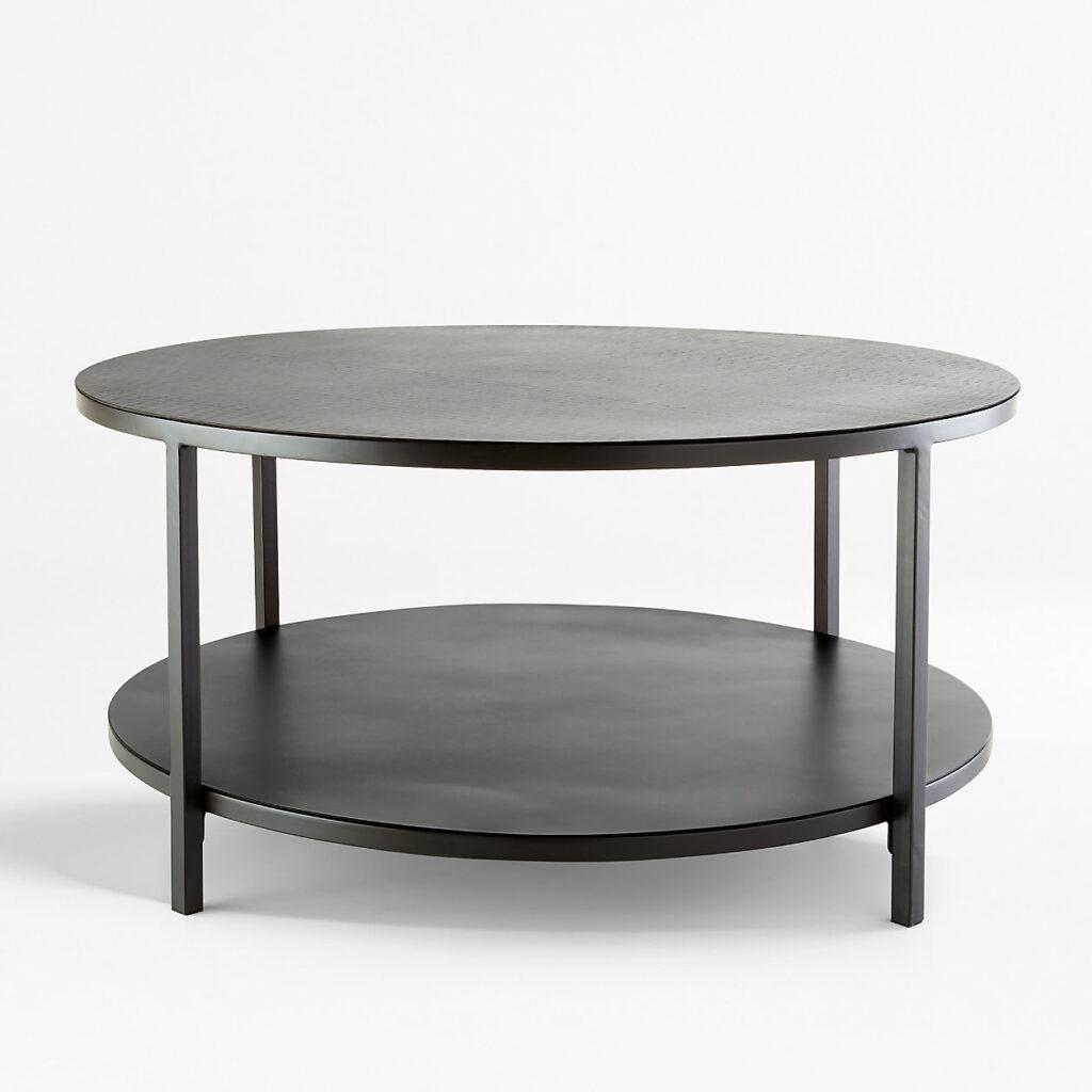 Echelon round coffee table