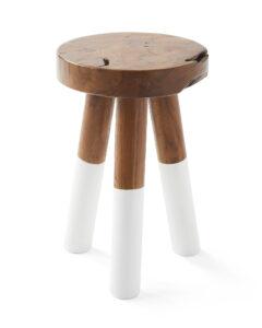 Dip dyed stool