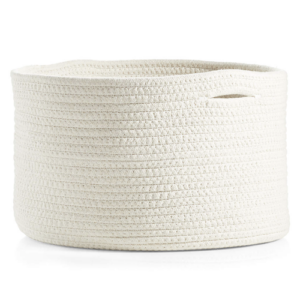 Natural Rope Storage Bin