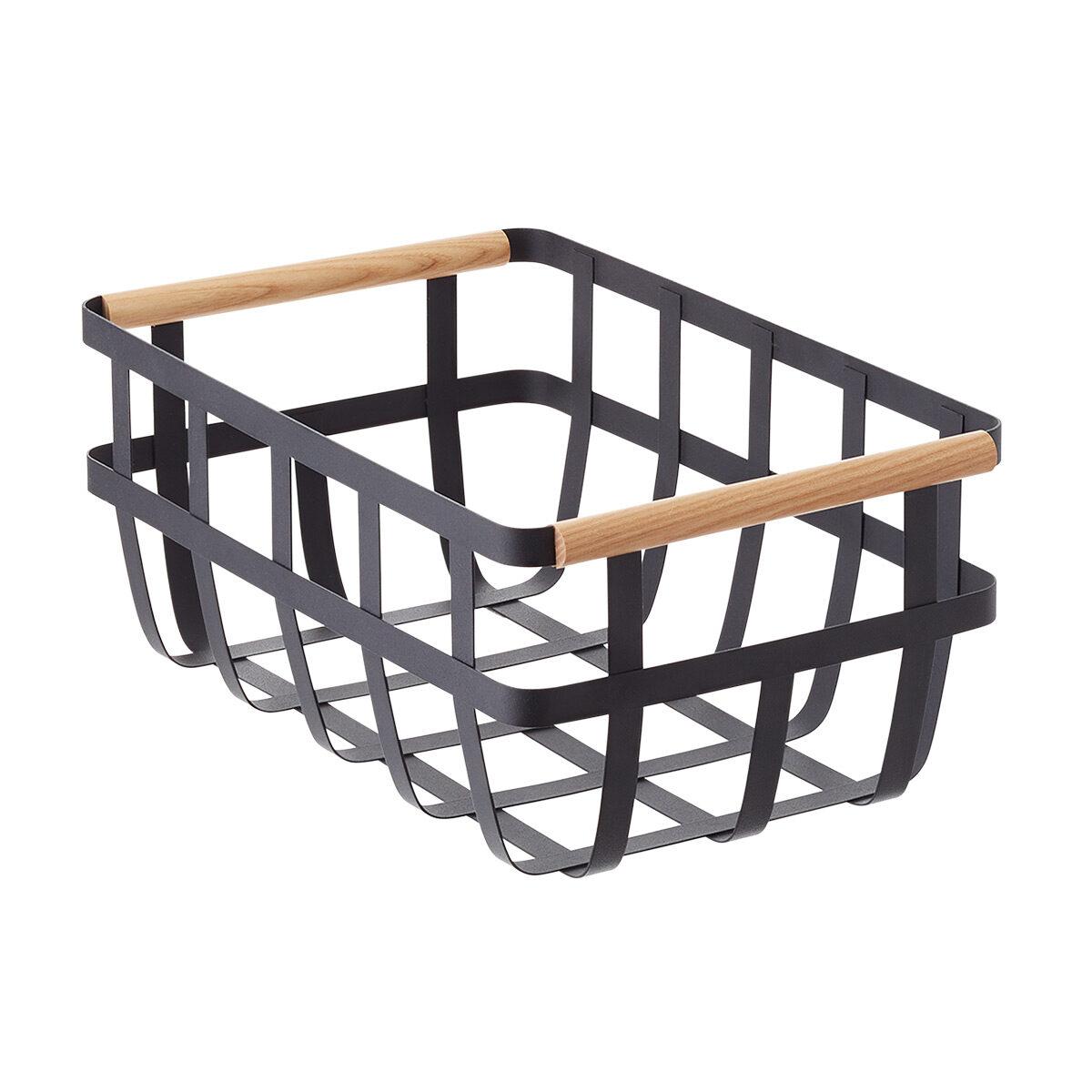 Black tosca basket