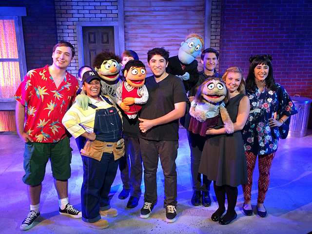 """""""Blown Away"""" by PVHS Production of Avenue Q"""