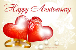 Happy Anniversary Russell and Sandy Fiveash
