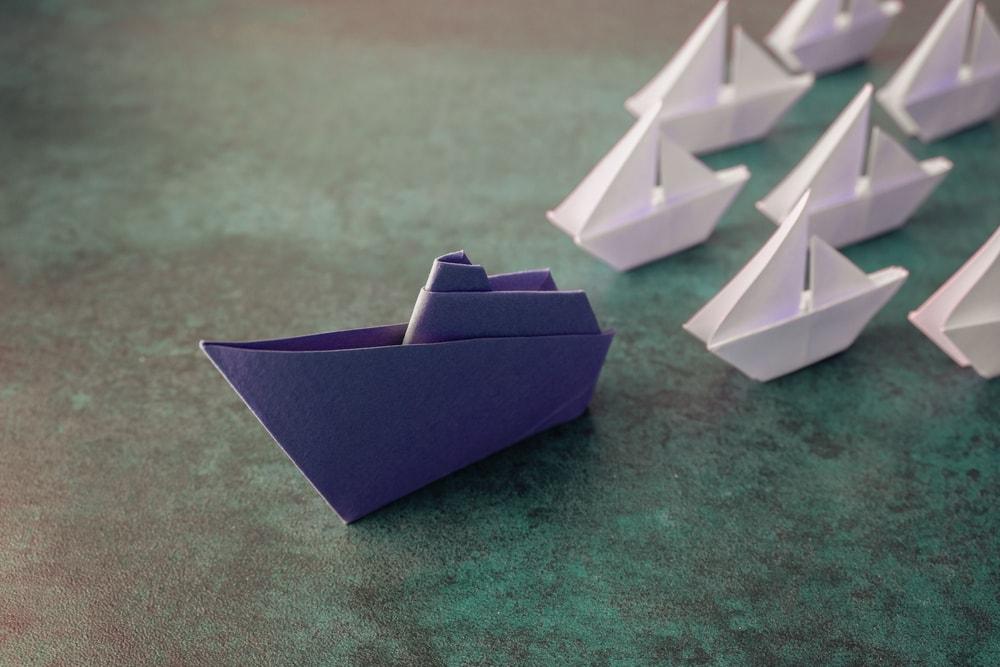 boat leading the way - leadership