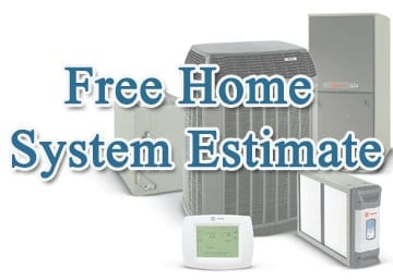 Free home system estimate