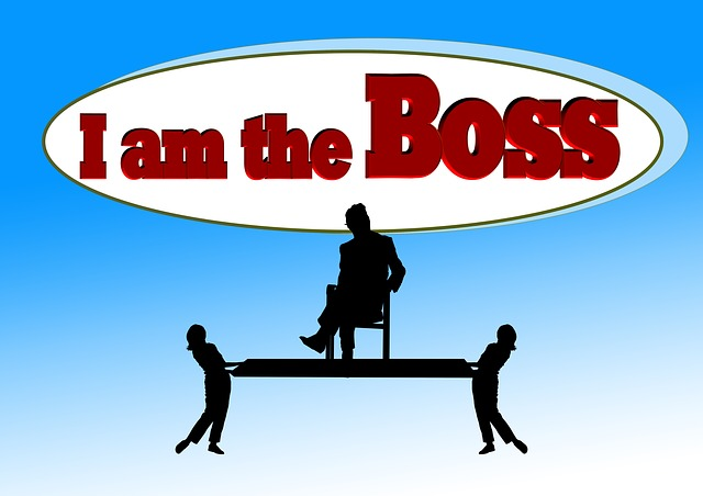 I'm Not The Boss—You Are