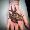 hand sparrow