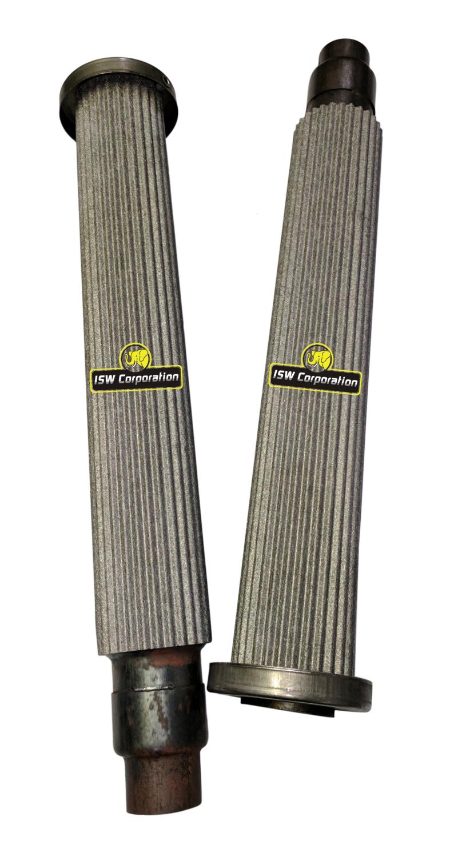 metal fiber mat sleeve