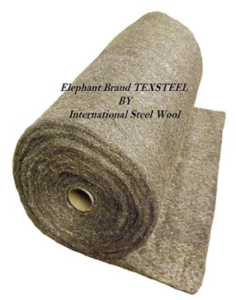 ISW Texsteel steel wool blanket roll