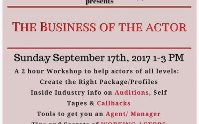 The Business of the Actor – Workshop