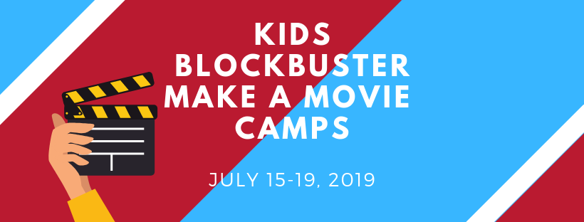 Kids Blockbuster Make A Movie Camps