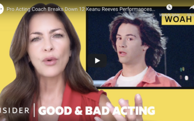 Raquel Breaks Down 12 Keanu Reeves Performances | Good & Bad Acting