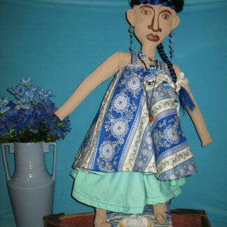 Yemaya Cloth Icon Doll