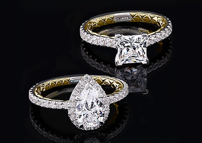 A. Jaffe Diamond Engagement Rings
