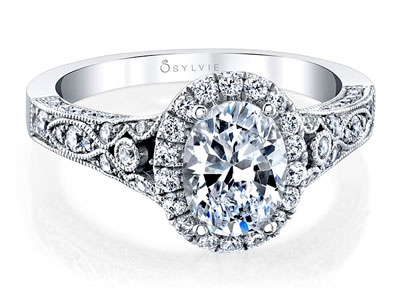 Sylvie Diamond Engagement Ring