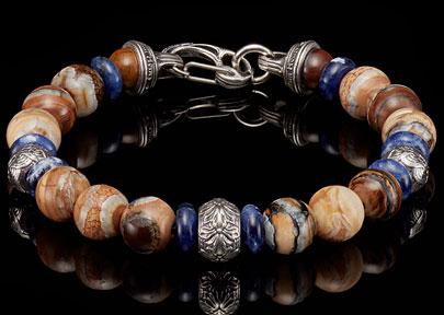 William and Henry Men's Bracelet