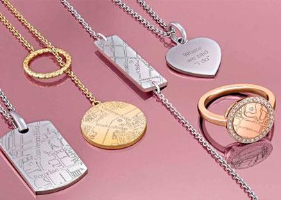 A. Jaffe Maps Jewelry