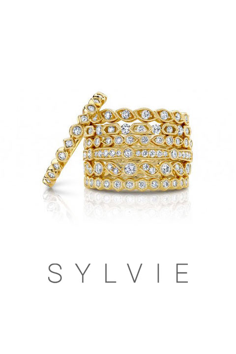 Wedding Bands and Rings by Sylvie