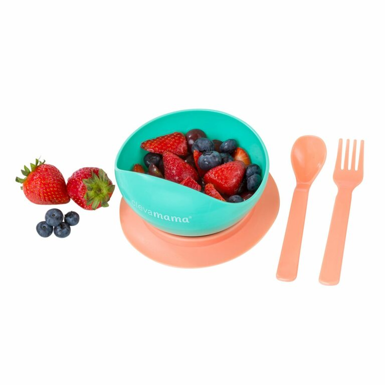 Feeding Bowl & Cutlery Set with Suction Ring