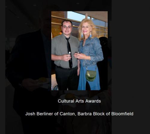 Josh Berliner and Barbara Block at CAA