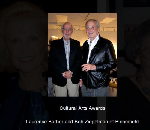 Laurence Barber and Bob Ziegelman at CAA