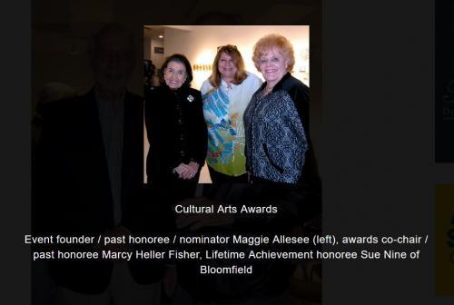 Maggie Allessee, Marcy Heller Fisher, Sue Nine