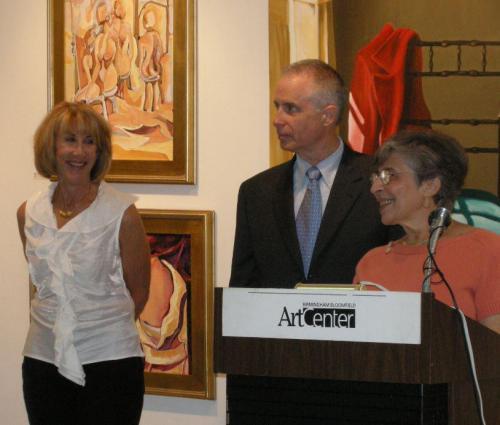 Judith Berne Jack Horner and Anita Goor 2007