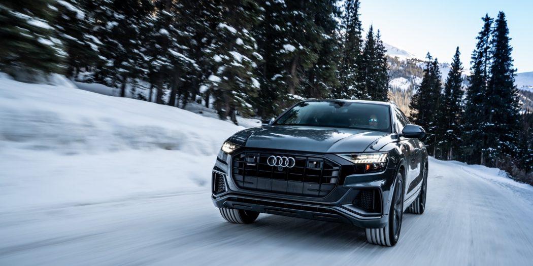El Audi Q8 nos muestra sus innovaciones con un musculoso estilo exterior