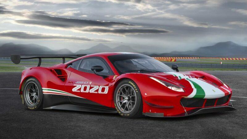 Ferrari muestra la nueva versión del 488 GT3 de competición