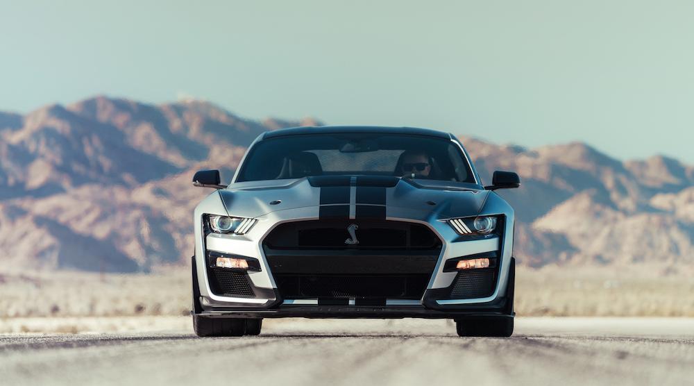 Ford Mustang Shelby GT500 2020 – El más potente de la historia