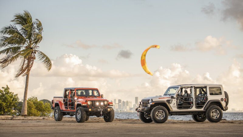 "2020 Jeep Wrangler & Gladiator ""Three O Five"", Miami Style"