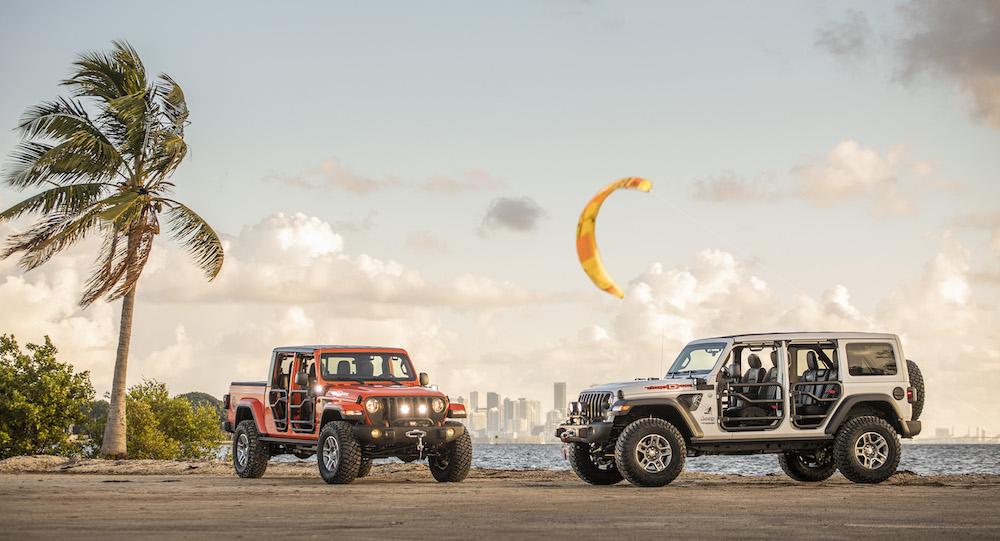 "2020 Jeep Wrangler & Gladiator ""Three O Five"", Miami Style"