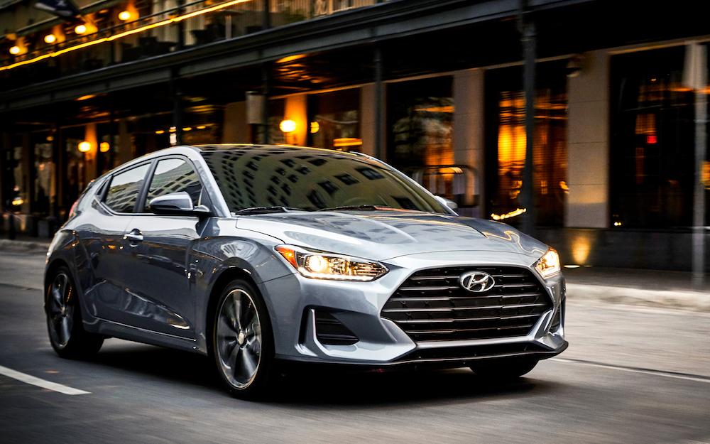 Hyundai Veloster del 2020, prueba de manejo