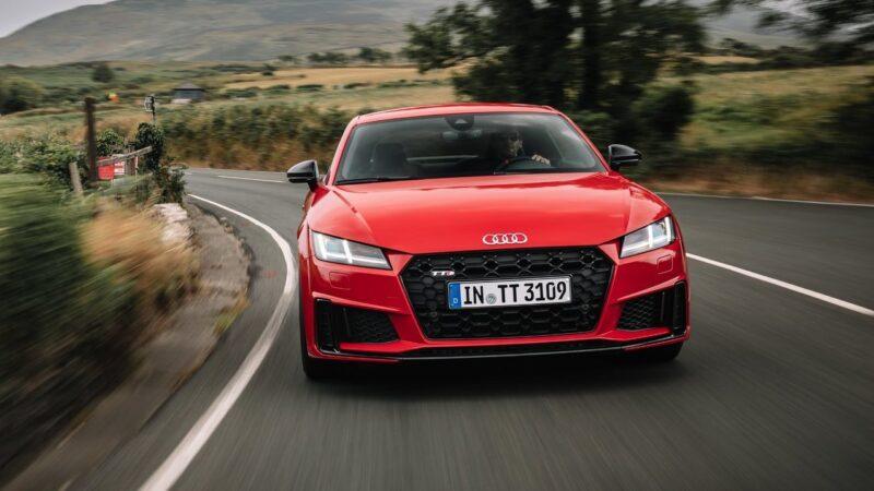 Audi TT RS Coupe, para los que buscan la emoción al volante