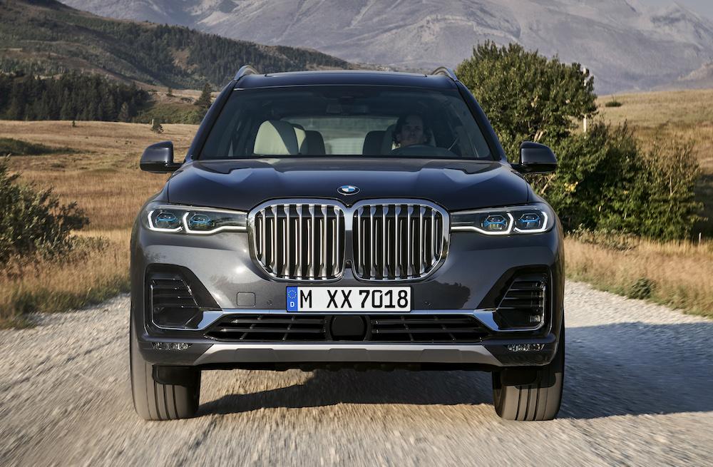BMW X7 M50i del 2020 el SUV más grande de la marca