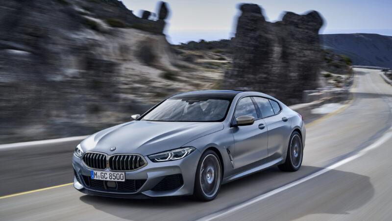 BMW 840i, del 2020, con la acostumbrada potencia alemana