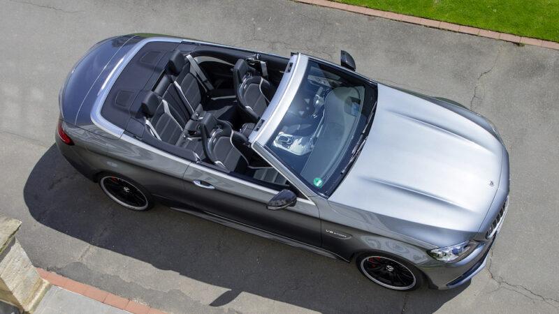 Mercedes Benz AMG C63 S Cabriolet del 2020 – Prueba de manejo
