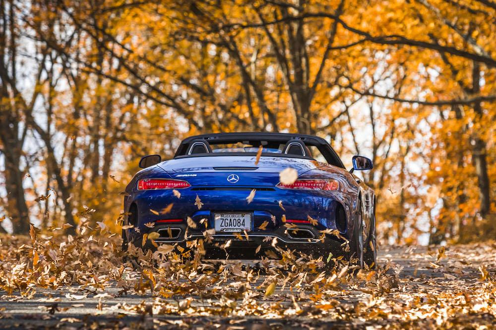 Mercedes Benz AMG GT C Roadster del 2020 – Prueba de manejo
