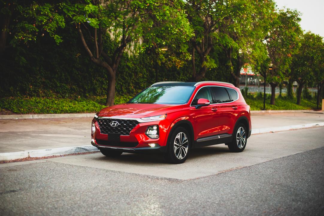 2020 Hyundai Santa Fe Limited FWD