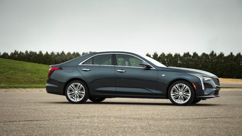 Cadillac CT4 del 2020, una experiencia de conducción deportiva