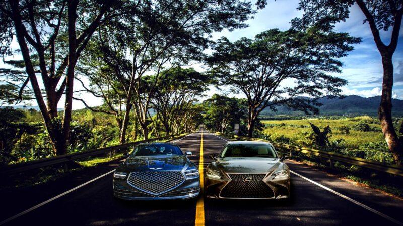 2020 Lexus LS 500 vs. Genesis G90