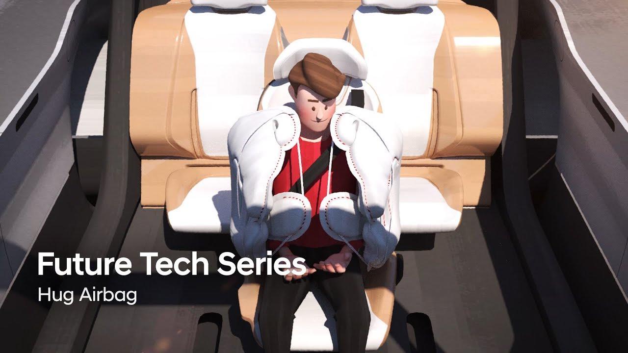 Hyundai desarrolló un nuevo concepto de airbag para la movilidad del futuro