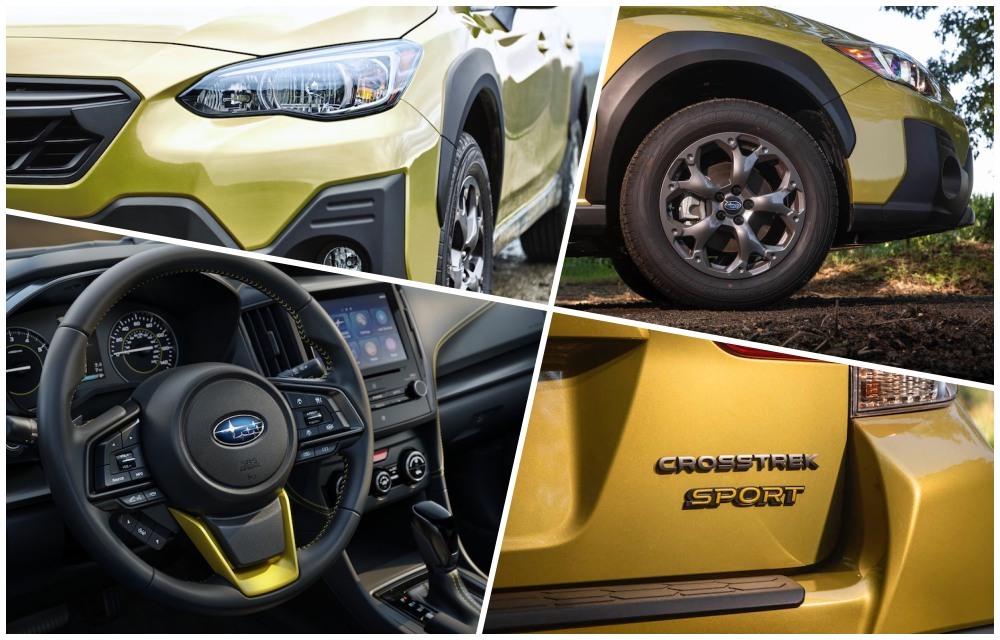 2021 Subaru Crosstrek collage
