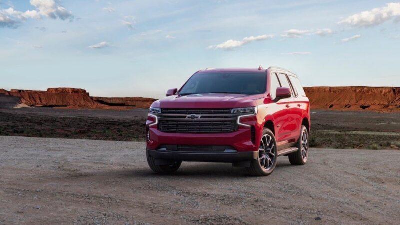 Chevrolet Tahoe RST del 2021, versátil y lujosa.