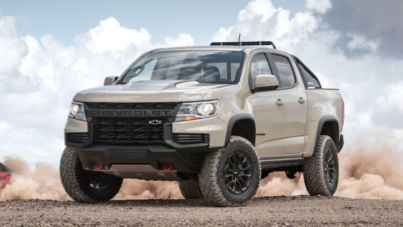 Chevrolet Colorado ZR2  del 2021, lo mejor de 2 mundos