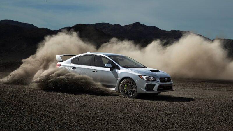 Subaru WRX STI del 2021, tecnología de rally para manejar todos los días