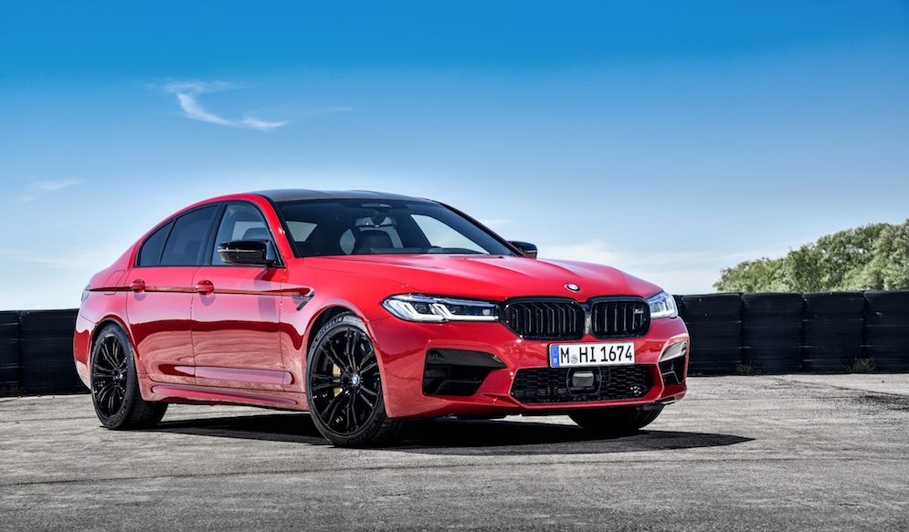 BMW M5 Sedán del 2021, un deportivo imponente