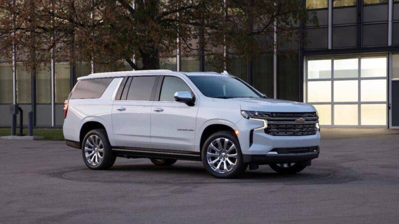 Chevrolet Suburban del 2021, simplemente imponente