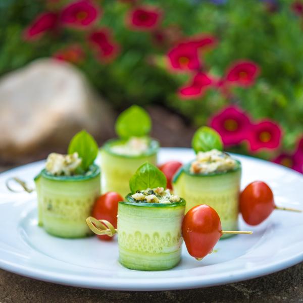 Cucumber-Rolls-with-Pesto-Shrimp-Salad