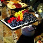 cookies, fruit, etc