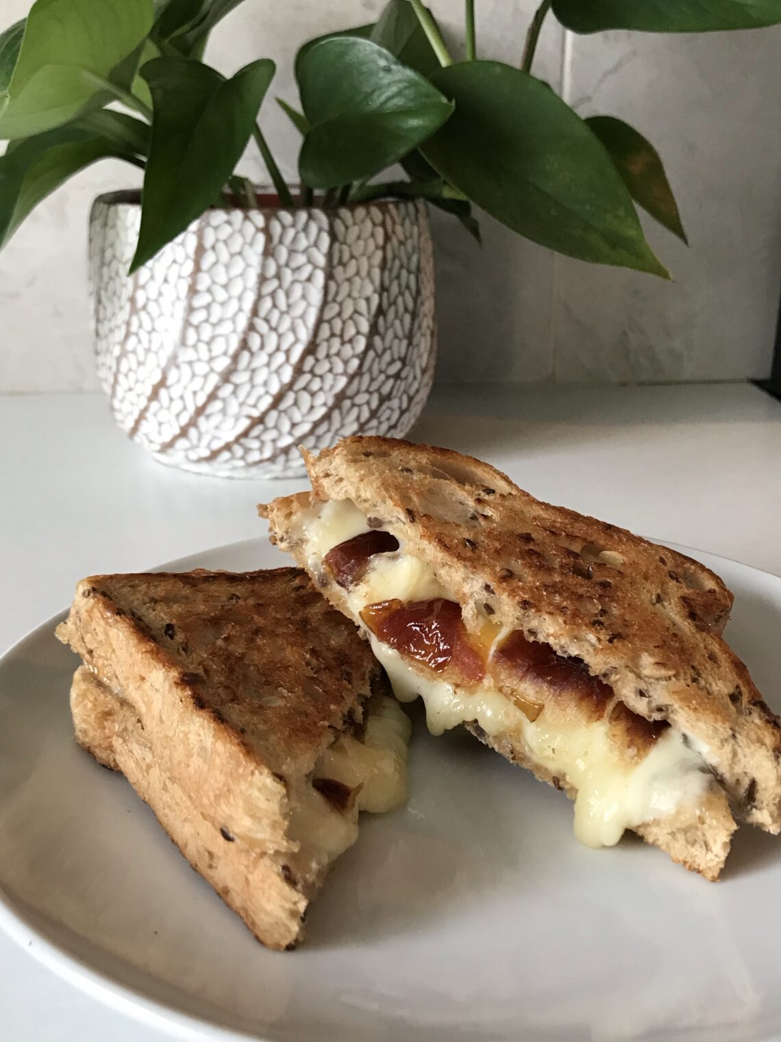 Date Grilled Cheese Sandwich